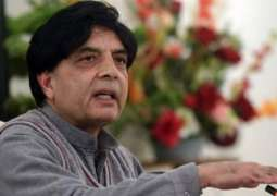 Ch Nisar flies to London for important meeting