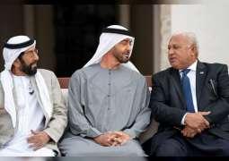 Mohamed bin Zayed, Fiji PM review bilateral relations