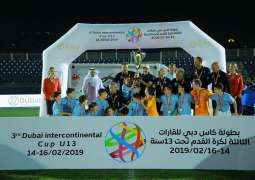 Football stars of future set for showdown at Under 13 Dubai Intercontinental Cup