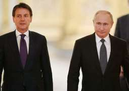Putin, Italian Prime Minister Discuss Over Phone Situation in Libya - Kremlin