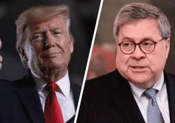 Trump Praises Attorney General Barr For Intervention in 'Out of Control' Roger Stone Trial