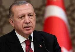 President Erdogan offers full support for Pakistan at FATF