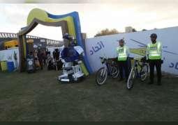 شرطة أبوظبي تشارك في ملتقى أبوظبي الأسري الثاني