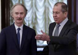 Lavrov, Pedersen Discuss Situation in Syria, Constitutional Committee's Work - Moscow
