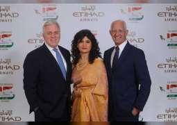 Etihad Airways celebrates 15 years of flying to India