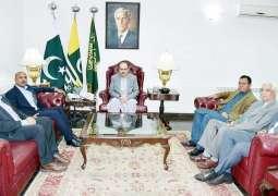 Masood Khan lauds exemplary efforts of Kashmir Orphan Relief Trust