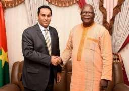 سفير المملكة لدى بورکینافاسو يلتقي بوزیر الإدارة الإقليمية واللامركزية