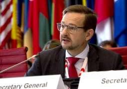 Senior Russian Lawmaker Says Plans to Discuss Sputnik Estonia With OSCE Chief