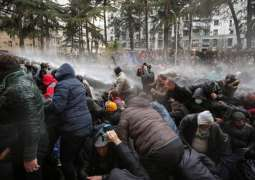 Ukrainian Protesters Scuffle With Police Over Evacuation of Nationals From Wuhan - Reports