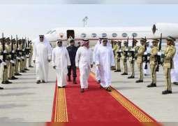 سيف بن زايد يستقبل وزير الداخلية البحريني