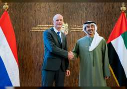 Abdullah bin Zayed receives Minister of Foreign Affairs of Netherlands