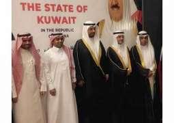 السفير الروقي يشارك في حفل سفارة الكويت في غانا بمناسبة اليوم الوطني
