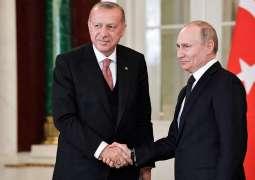 Putin, Erdogan Stress Importance of Implementation of Berlin Conference Decisions on Libya