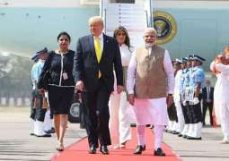 Trump claims good relations with Pak, hopes reduction in tensions