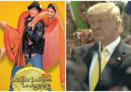 "US President mentions Shah Rukh Khan's movie ""Dilwale Dulhania Le Jayenge"""