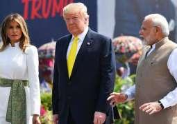 الرئیس الأمریکي دونالد ترامب یعرب عن أملہ في تخفیف حدة التوتر بین الھند و باکستان