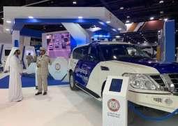"""شرطة أبوظبي تعرض تقنيات متطورة في""""يومكس """" و"""" سيمتكس """""""