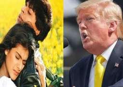 Trump lavishes praise on Shah Rukh Khan starrer 'Dilwale Dulhania Le Jayenge'