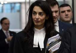 Amal Clooney hired by Maldives to get Rohingya Muslims justice from Myanmar