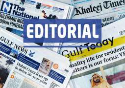 UAE Press: World needs to intensify battle against virus
