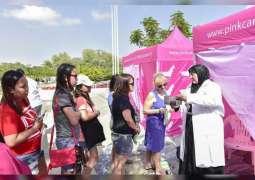 """شخصيات رسمية و فنية تقود ثالث أيام """"القافلة الوردية"""" في دبي"""