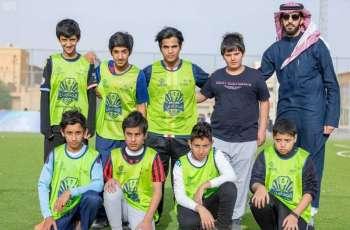 تعليم الدوادمي يطلق دوري المدارس بمشاركة أكثر من 3000 طالب