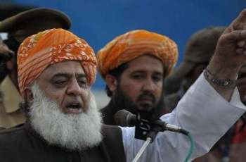 "JUI-F  Chief calls PTI govt as ""illegitimate"", vows to continue struggle against it"