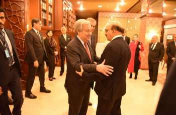 Masood Khan invites UN Secretary General to visit AJK