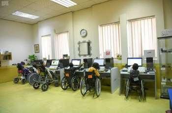 حرم سمو أمير الرياض تشييد بالإمكانات المتوفرة في جمعية الأطفال ذوي الاعاقة