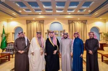 سمو أمير منطقة الجوف يستقبل مدير مكتب وكالة الأنباء السعودية بالمنطقة