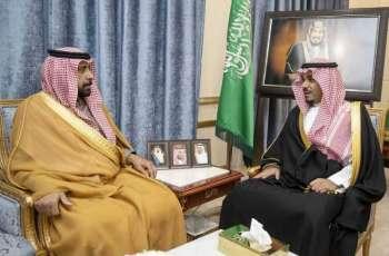 سمو نائب أمير نجران يلتقي أمير الفوج 39 بالحرس الوطني