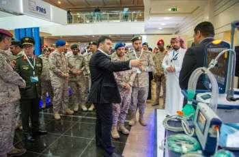 رئيس هيئة الأركان العامة يفتتح المؤتمر الدولي الأول للطب العسكري ومؤتمر الجمعية السعودية لطب العناية الحرجة