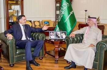 الدكتور العواد يستقبل وفد الخارجية الفرنسي ويبحث أوجه التعاون في مجال حقوق الإنسان