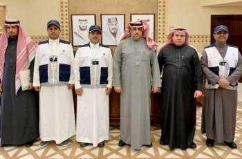 وكيل إمارة منطقة الرياض يلتقي بمشرف تعداد السعودية 2020 بالمنطقة