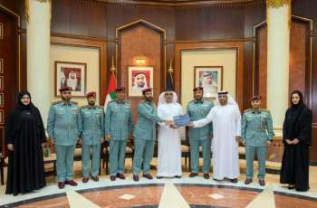 Saif bin Zayed briefed on international accreditation obtained by Ministry of Interior