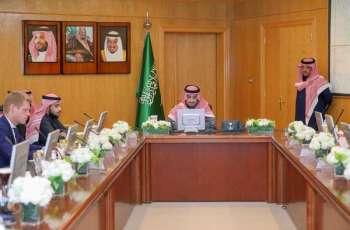 سمو نائب أمير منطقة الجوف يلتقي فريق بناء مشروع استراتيجية تطوير المنطقة