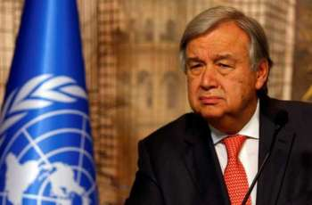 UN Chief leaves Pakistan after four-day official visit