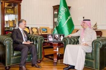 رئيس هيئة حقوق الإنسان يبحث آفاق التعاون في مجال حقوق الإنسان مع سفير أفغانستان لدى المملكة