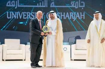 عبدالله بن سالم القاسمي يشهد انطلاق أعمال مؤتمر الشارقة السادس للموارد البشرية