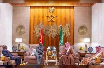 ولي العهد السعودي يبحث مع رئيس أريتريا مستجدات الأحداث الإقليمية