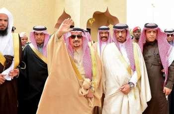 سمو أمير منطقة الرياض يزور محافظة الأفلاج