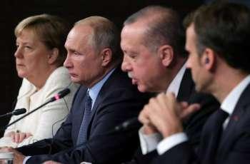Erdogan Discusses Idlib With Macron, Merkel - Administration