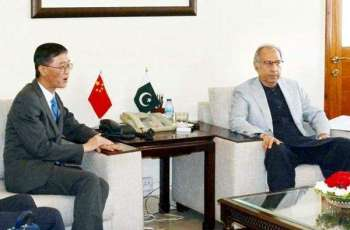 Abdul Hafeez Shiekh thanks China for supporting at FATF