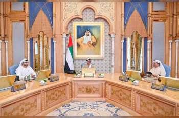 منصور بن زايد يترأس الاجتماع الأول للجنة الاستعداد للخمسين