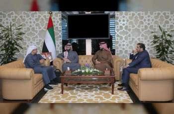 """وفد بحريني يطلع على الخدمات الذكية بـ""""قضاء أبوظبي"""""""