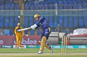 Peshawar Zalmi bags victory against Quetta Gladiators