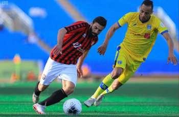 التعاون يتعادل مع الرائد في الجولة الـ19 من دوري كأس الأمير محمد بن سلمان للمحترفين