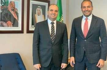 الدكتور منزلاوي يلتقي بنائب مندوب المملكة المغربية لدى الأمم المتحدة