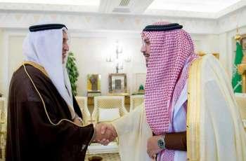 سمو الأمير فيصل بن مشعل يستقبل الرئيس التنفيذي لشركة المياه الوطنية