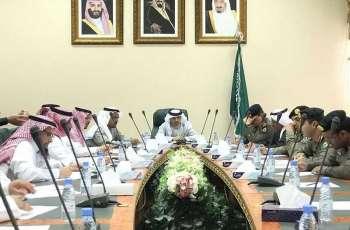 وكيل إمارة الباحة يرأس اجتماع لجنة السلامة المرورية بالمنطقة